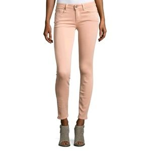 Paige Verdugo Ankle Skinny Slim Solid Faded Pants